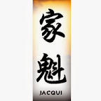 jacqui - J Chinese Names Designs