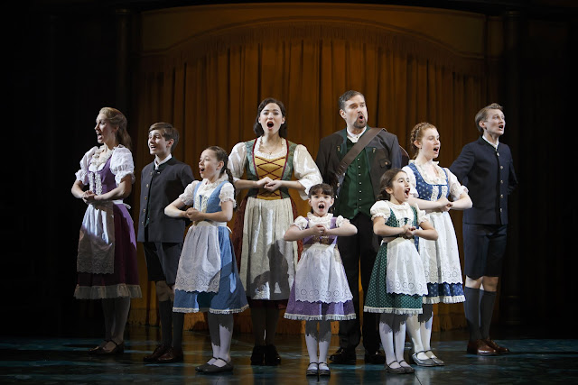 Members of the company in The Sound of Music. Photography by David Hou