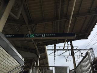 綾瀬駅の0番ホーム