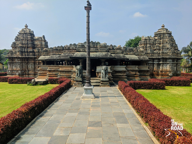 The gorgeous Veera Narayana Temple at Belavadi, Karnataka