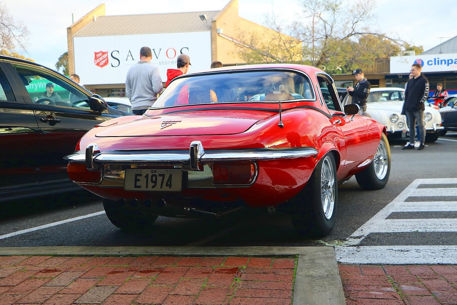 1974 Jaguar E-Type V-12 Rear.jpg