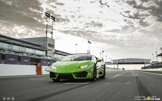 Lamborghini Super Cars Wallpaper HD New Tab