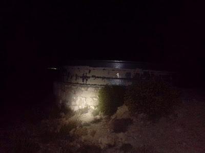 Depósito de agua contra incendios en La Palomera