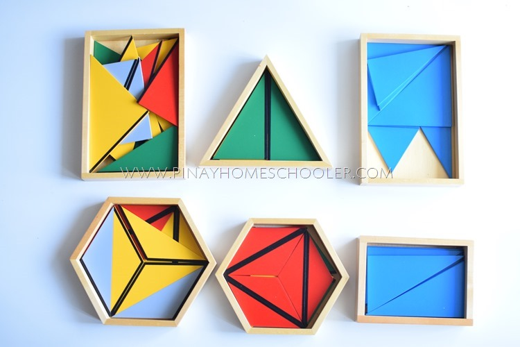 Montessori Constructive Triangles