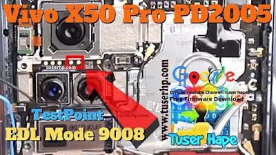 Test Point VIVO X50 Pro 5gEDL Test Point