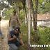 Polisi Bongkar Portal Jalan yang Diduga Menjadi Ajang Pungli di Nagrak Sukabumi