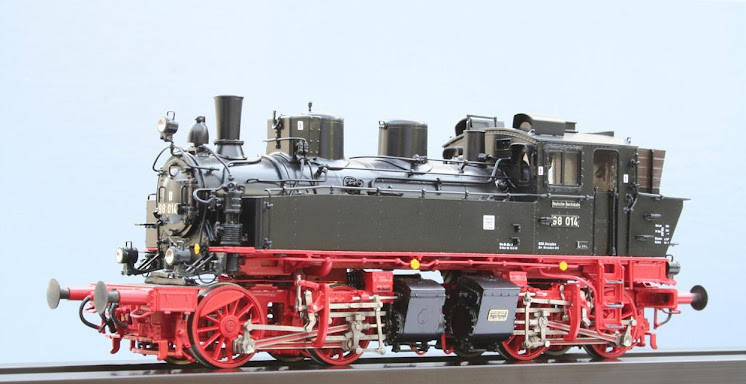 Modeli parnih lokomotiva DRG 03802H-Lv