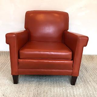 Vintage Orange Armchair