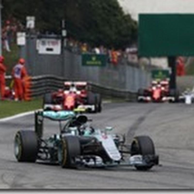 GP d'Italia: Domina Rosberg. Vettel terzo