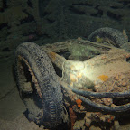 Motorcycle sidecar at the Thistlegorm