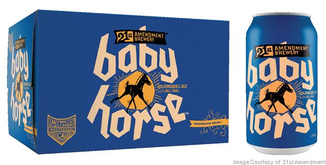 21st Amendment Introduces Baby Horse