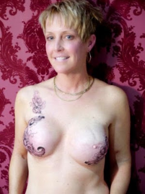 Gorgeous Tattoos To Cover The Scars Of Breast Cancer Survivors