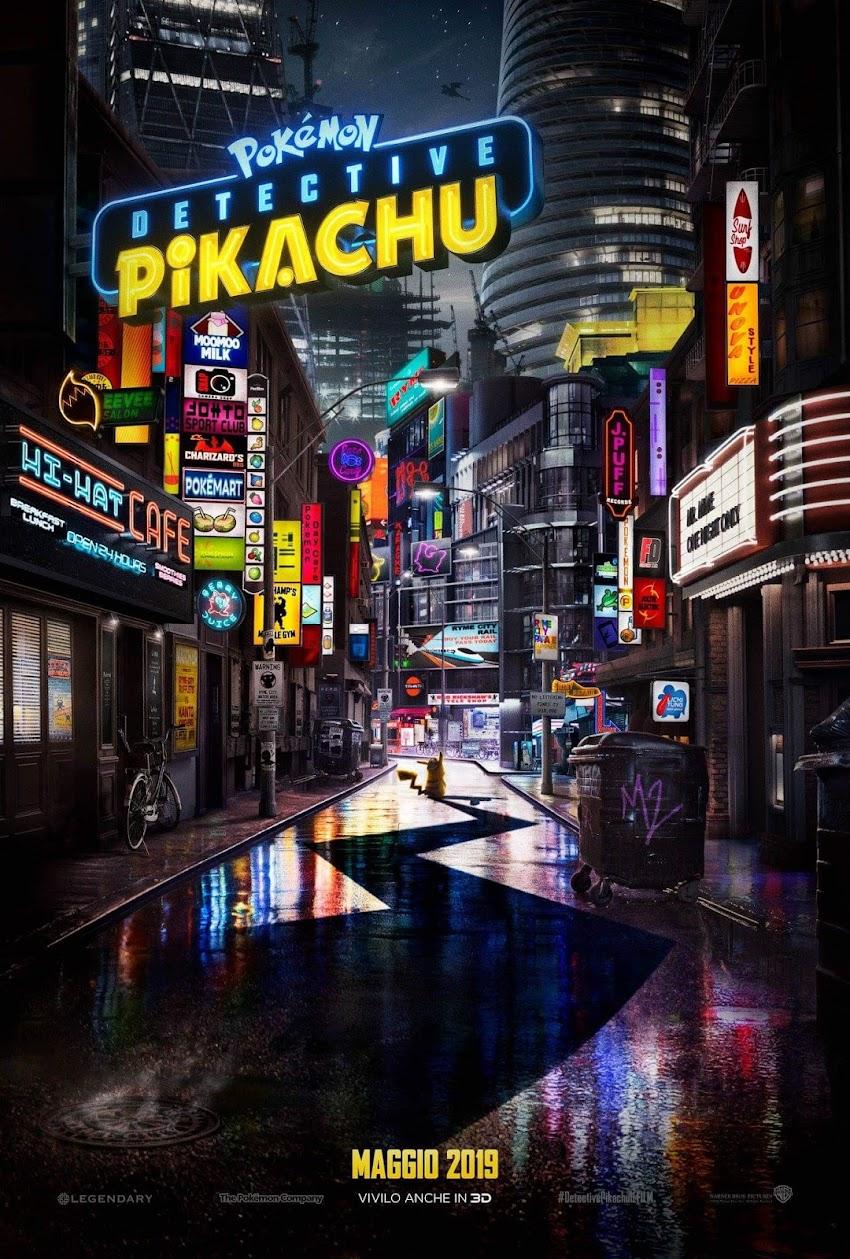 POKÉMON Detective Pikachu, dal 9 maggio al cinema