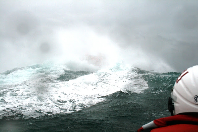 12 June 2011 - Gone! ALB (somewhere!) during exercise in rough weather (southerly force 7, gusting 8, heavy rain, 4.5m seas). (Photo credit: Rob Inett)