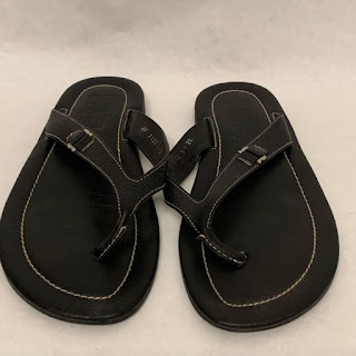 Salvatore Ferragamo Leather Thongs