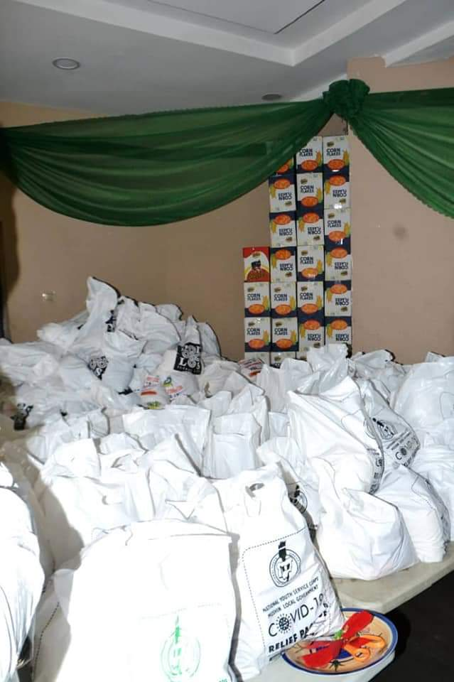JUST IN: LAGOS CORPS MEMBERS DONATE COVID-19 SAMPLE COLLECTION BOOTH -(photos)