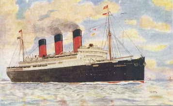 Photo: BERENGARIA (CUNARD WHITE STAR LINE)