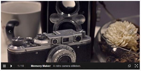 JavaScript image gallery framework slider