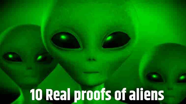 10 Real proofs of Aliens
