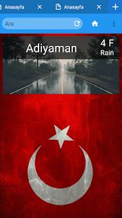 Türk Browser - náhled