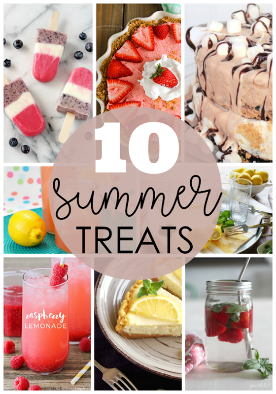 10 Summer Treats at GingerSnapCrafts.com