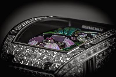 Richard Mille RM 19-02 Tourbillon Fleur Watch Baselworld 2015 Basel 2