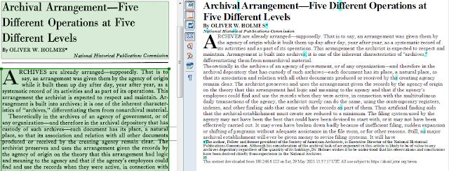 dokumen PDF setelah dikonversi dengan PDF OCR