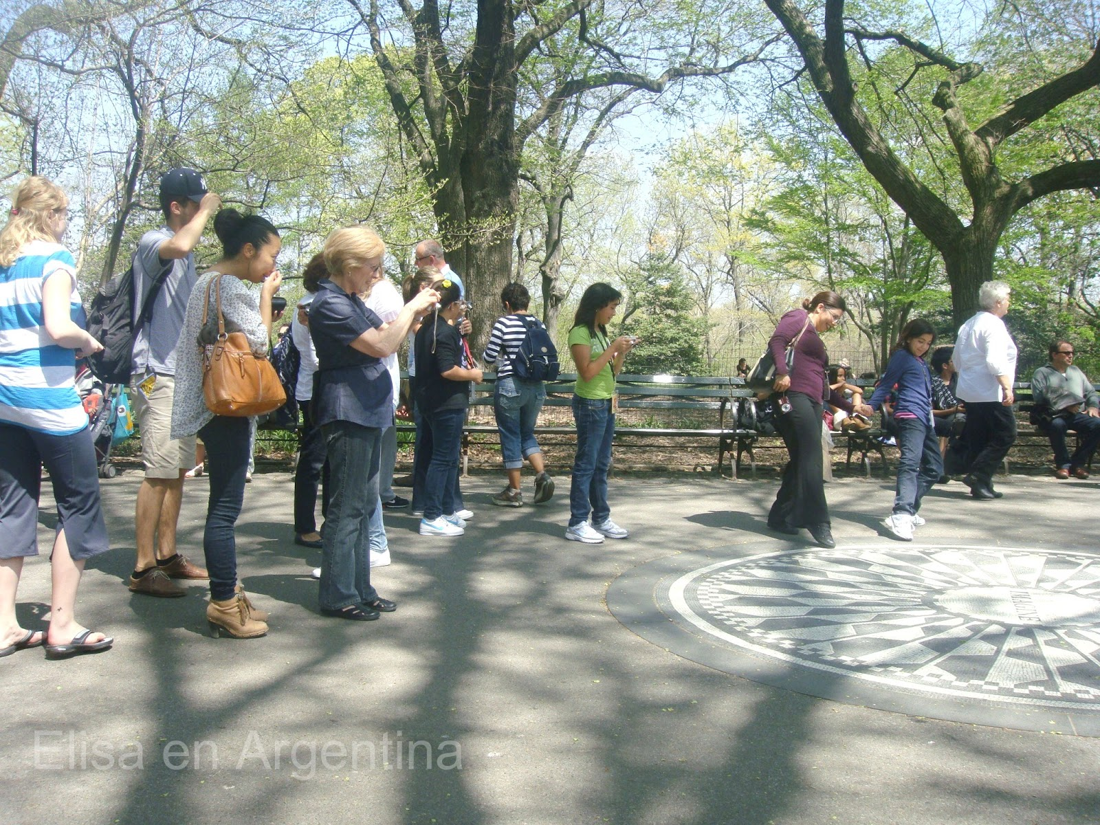 IMAGINE, People & Central Park