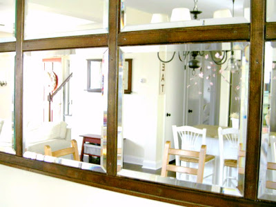 diy beveled mirror