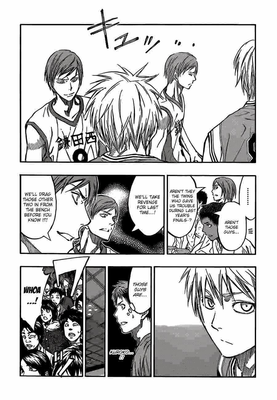 Kuroko no Basket Manga Chapter 225 - Image 14
