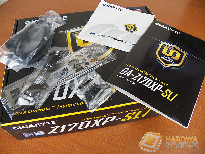 Gigabyte Z170XP-SLI accesorios