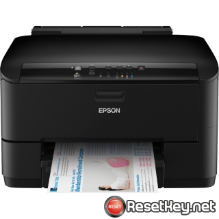 Resetting Epson WorkForce WP-4025DW printer Waste Ink Pads Counter