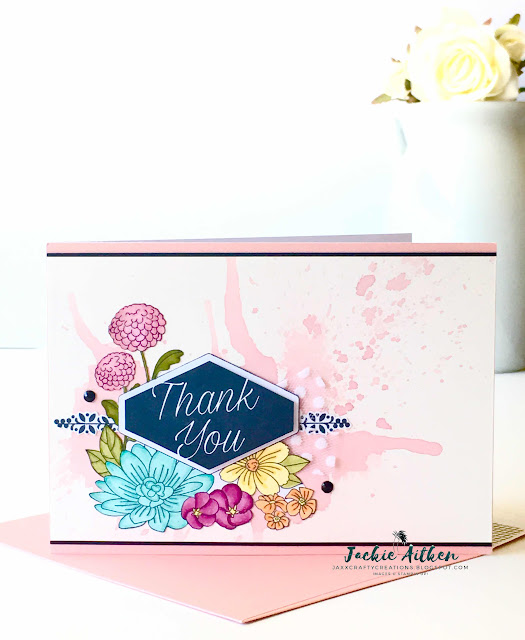 stampin up accented blooms, https://jaxxcraftycreations.blogspot.com