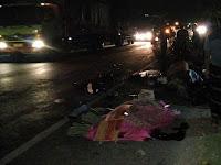 30 Menit Yang Lalu, Kecelakaan Terjadi di Sendang Mulyo Sluke