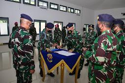 Seleksi Penerimaan Prajurit TNI AL   Panitia Daerah Lantamal V Laksanakan  Penandatanganan Pakta Integritas