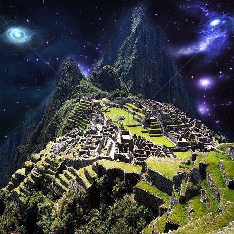 Starlight Over Machu Picchu Thirdeye Psychedelic Trippy