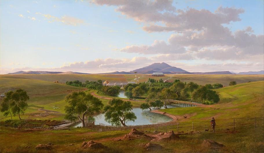 National Gallery of Victoria, Melbourne - Yalla-y-Poora, 1864, artist: Eugène von GUÉRARD