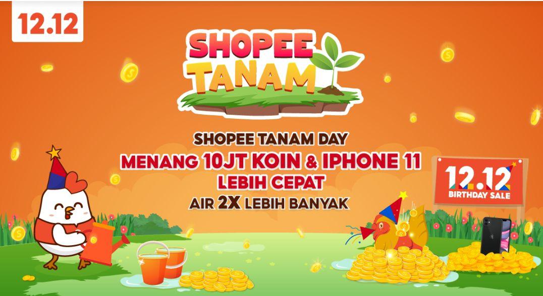 Tips Cepat Siram Tanaman Shopee Terbaru