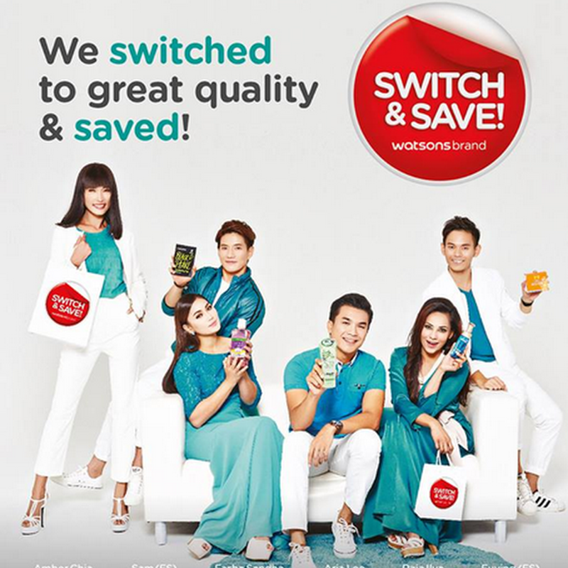 Kempen Tukar dan Jimat ( Switch and Save ) Watsons !