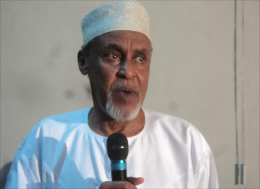 Garissa Senator Yusuf Haji