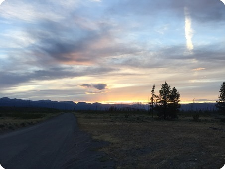 West Yellowstone, MT Sunset