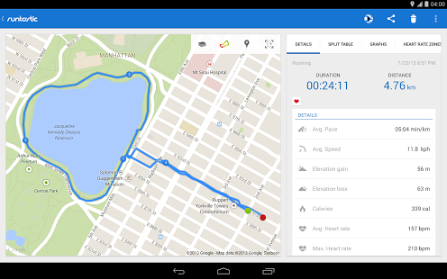 Runtastic Running PRO for Android