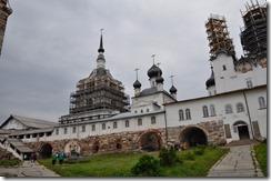 7 solovsky cour du kremlin a gauche St Nicolas au centre annonciation