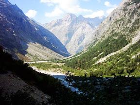Vallée de la Pilatte, Carrelet, Temple Ecrins et au fond la Bérarde