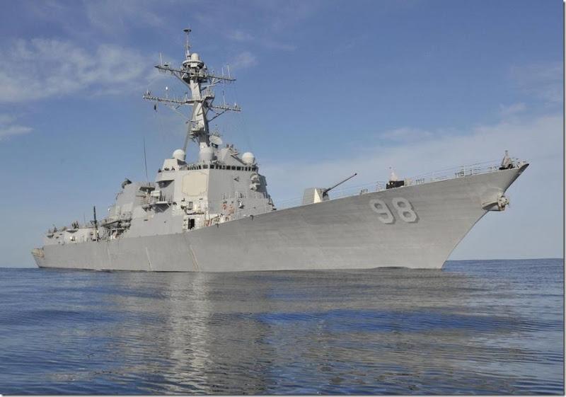 Οι ΗΠΑ Ετοιμάζονται να Στείλουν Πολεμικό στην Μαύρη Θάλασσα Επικαλούμενες το Ουκρανικό Επεισόδιο