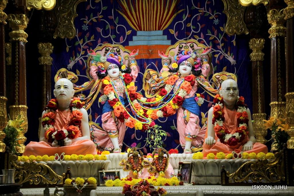ISKCON Juhu Sringar Deity Darshan 10 Jan 2017 (67)