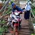 Jembatan Cibuyung Jampang Tengah Butuh Perhatian Serius