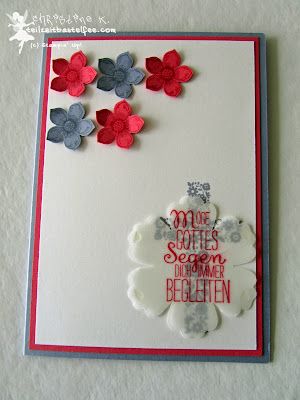 Stampin' Up! - In{k}spire_me #194,  Petite Petals, Gesegnet, Blessed by God, Blossom, Kommunion, Communion
