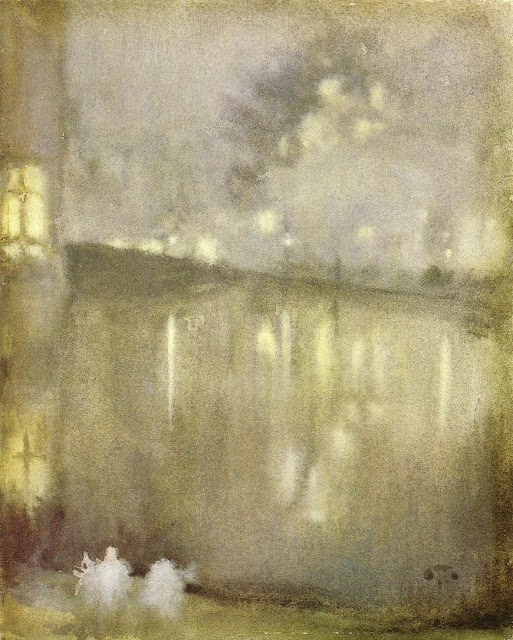 James Abbott McNeill Whistler. Nocturne. Grey and Gold - Canal, Holland