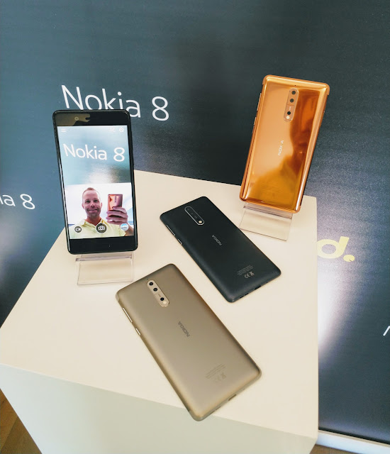 Nokia Releases Its Flagship Smartphone - Nokia 8 : See Full Specifications And Price 2